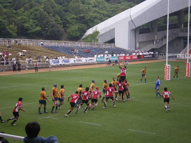 ラグビー日本代表対オーストラリア代表