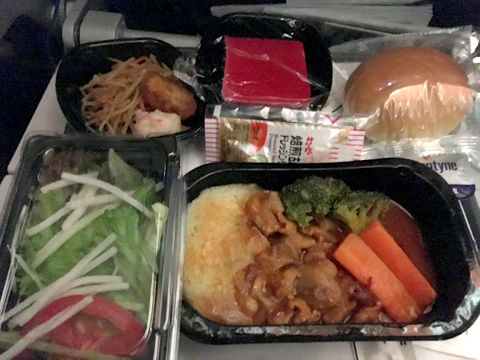 travel-newyork-american-airline-food